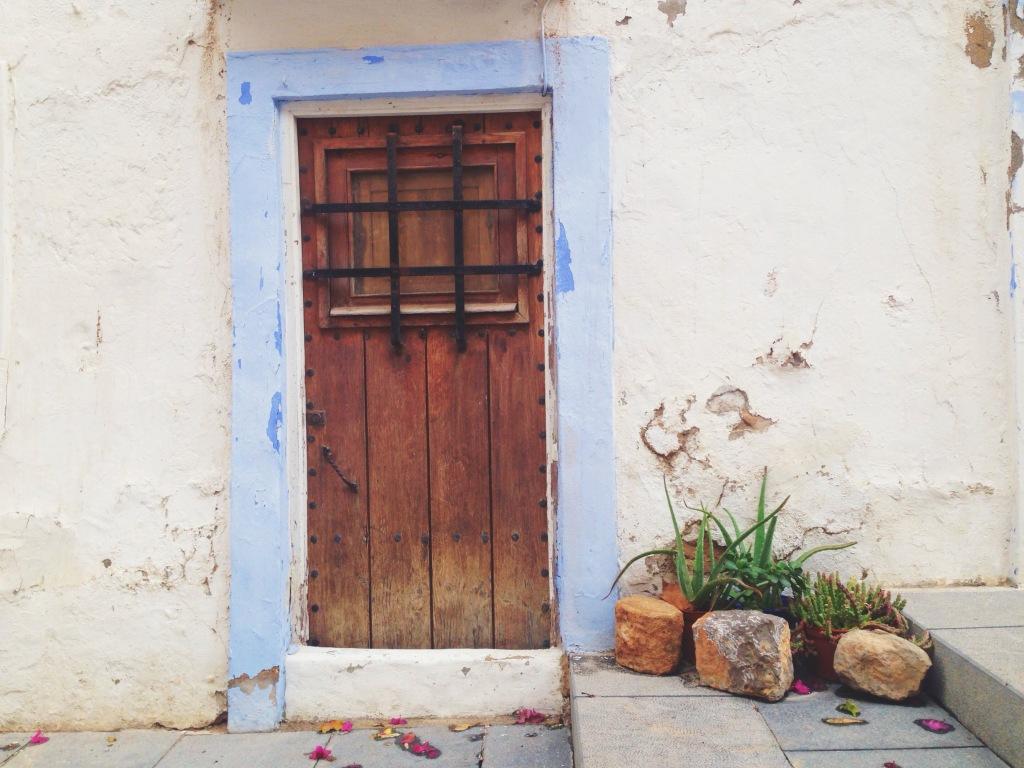 La città vecchia di Ibiza