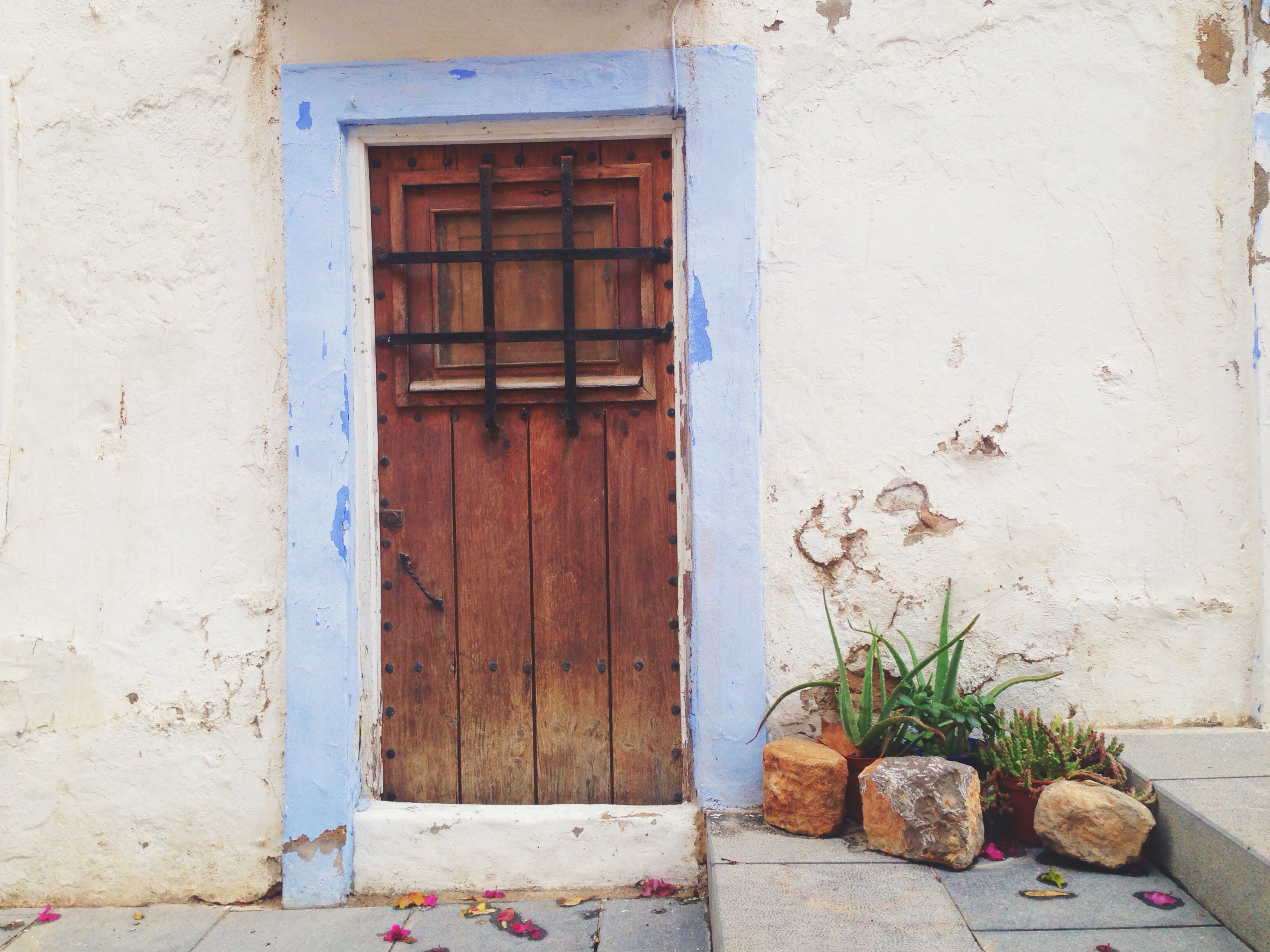Questa porta mi ha intrigato, ho aspettato, ma non si è aperta