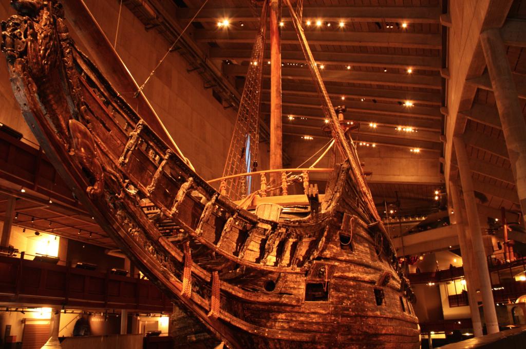 Vasa museet, un museo con un galeone dentro