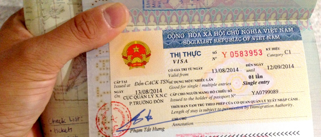 Visto Vietnam, visa on arrival
