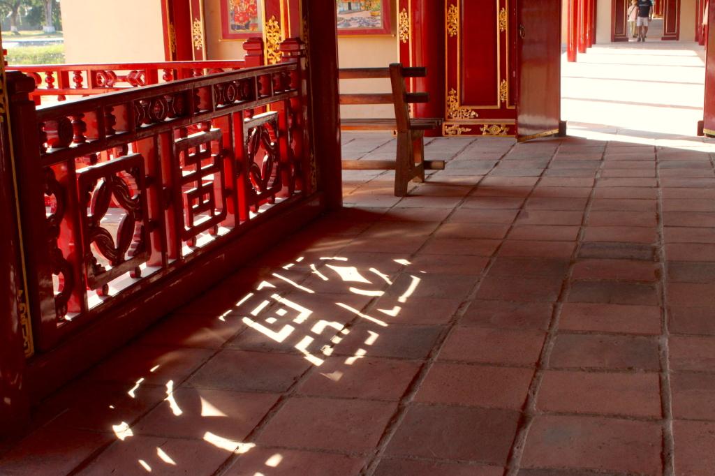 Alla Cittadella imperiale di Huè ti ricordi che la guerra fa ancora più schifo quando cancella la storia