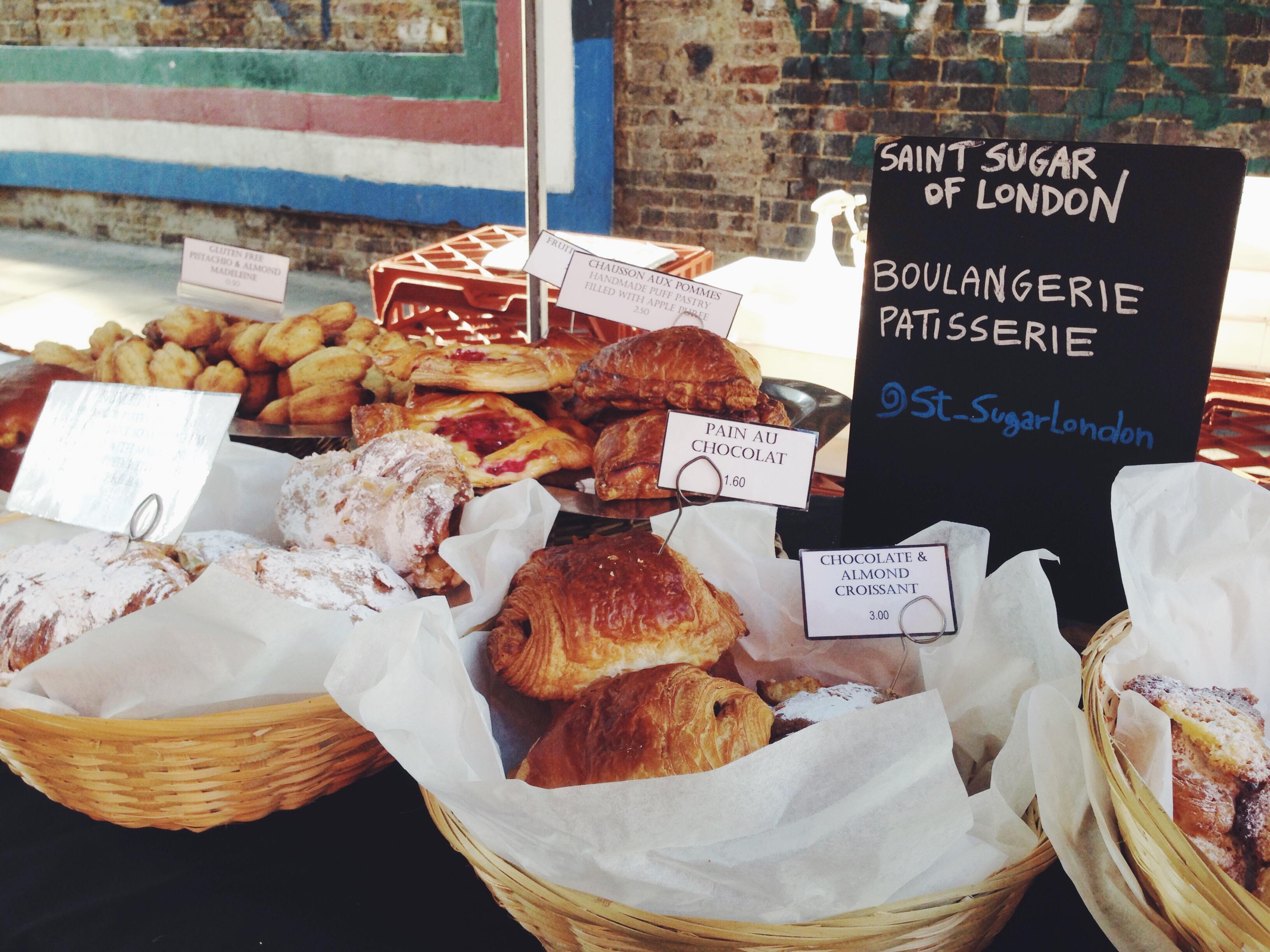 Brick Lane Market mangiare