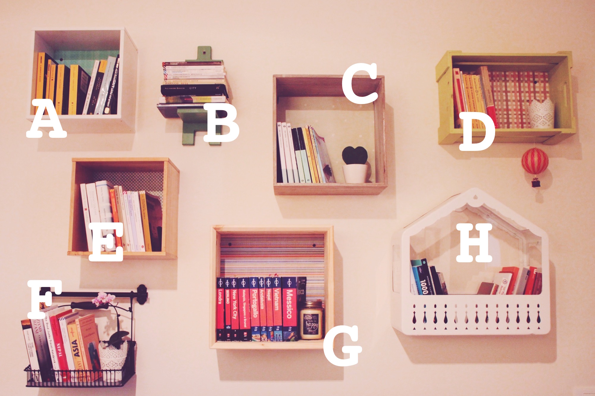 Costruire Libreria A Muro.Come Creare Una Libreria Originale Colorata E Personale Via Che