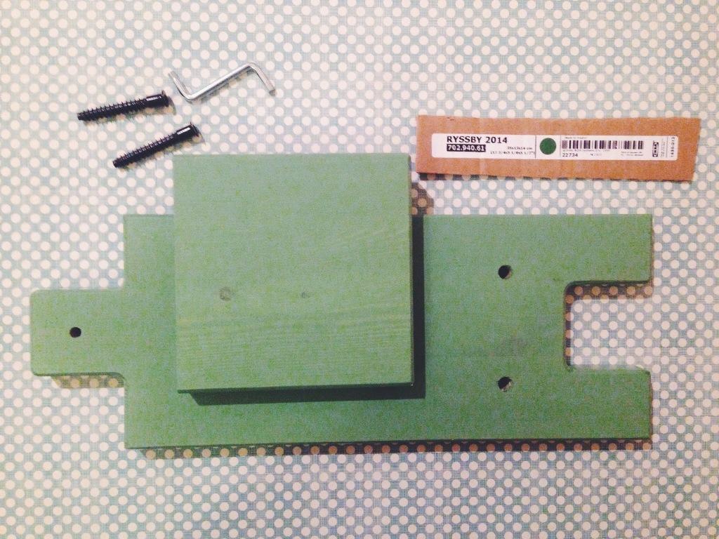 Montaggio mensola Ikea