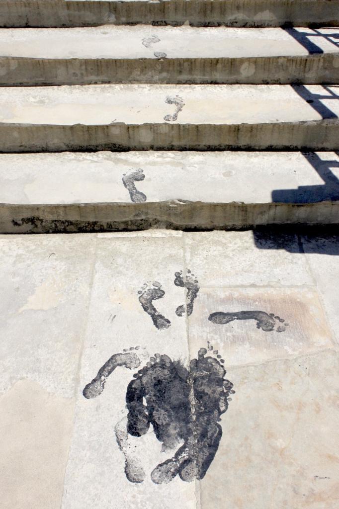 Piedi indecisi a Coimbra