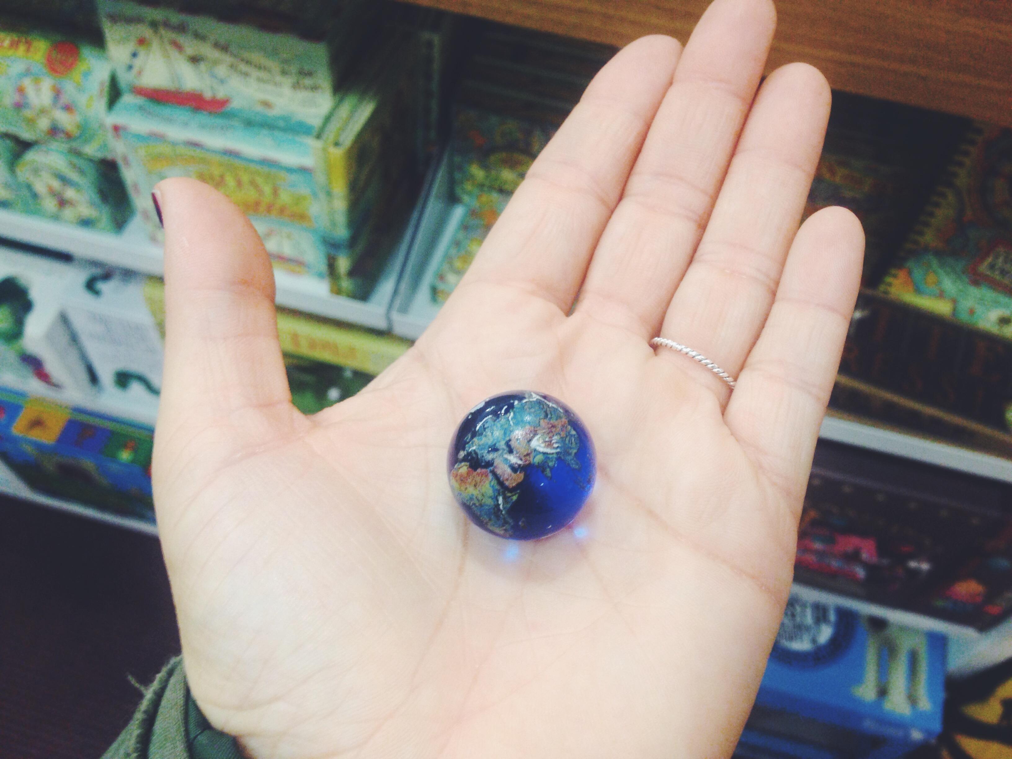 Il mondo nelle mie mani