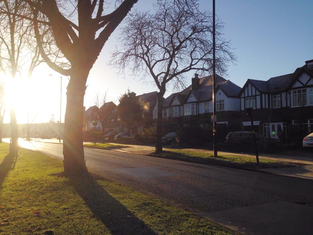 La luce del mattino inglese