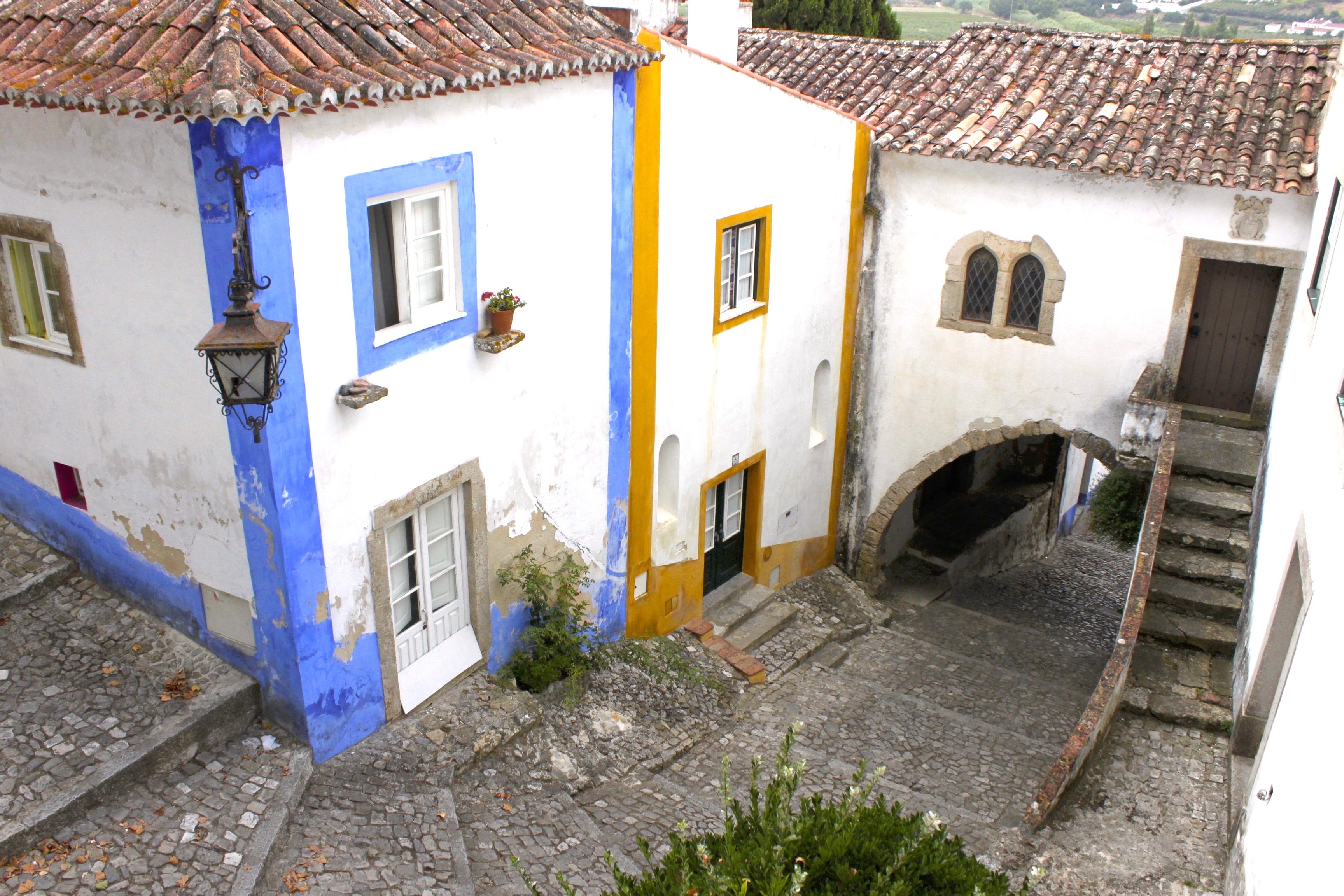 Le stradine colorate di Óbidos
