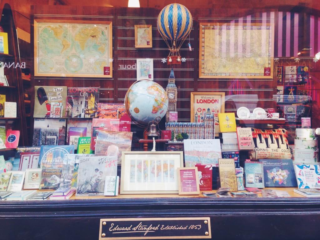 Libreria di viaggi a Londra