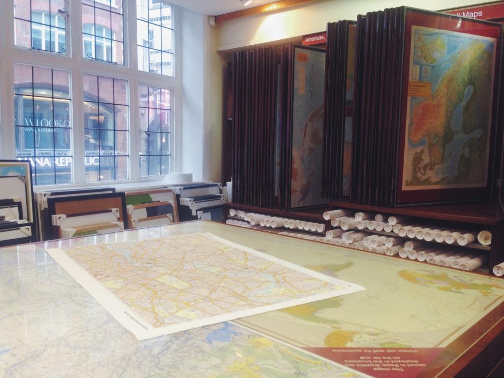 Mappe di Londra