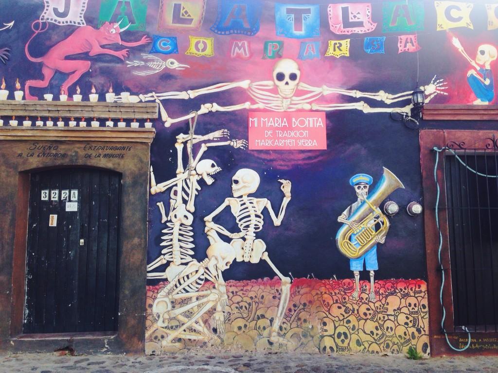 L'angolino più bello di Oaxaca.