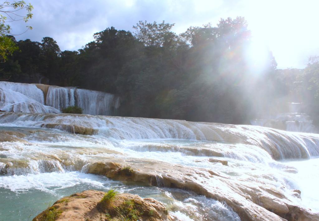 Itinerario di due settimane in Messico - Agua Azul