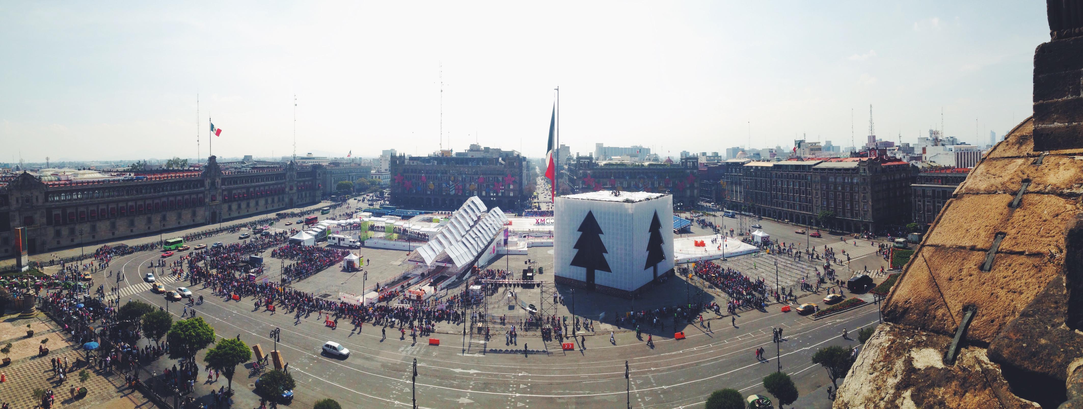 Itinerario di due settimane in Messico - Città del Messico, Zocalo