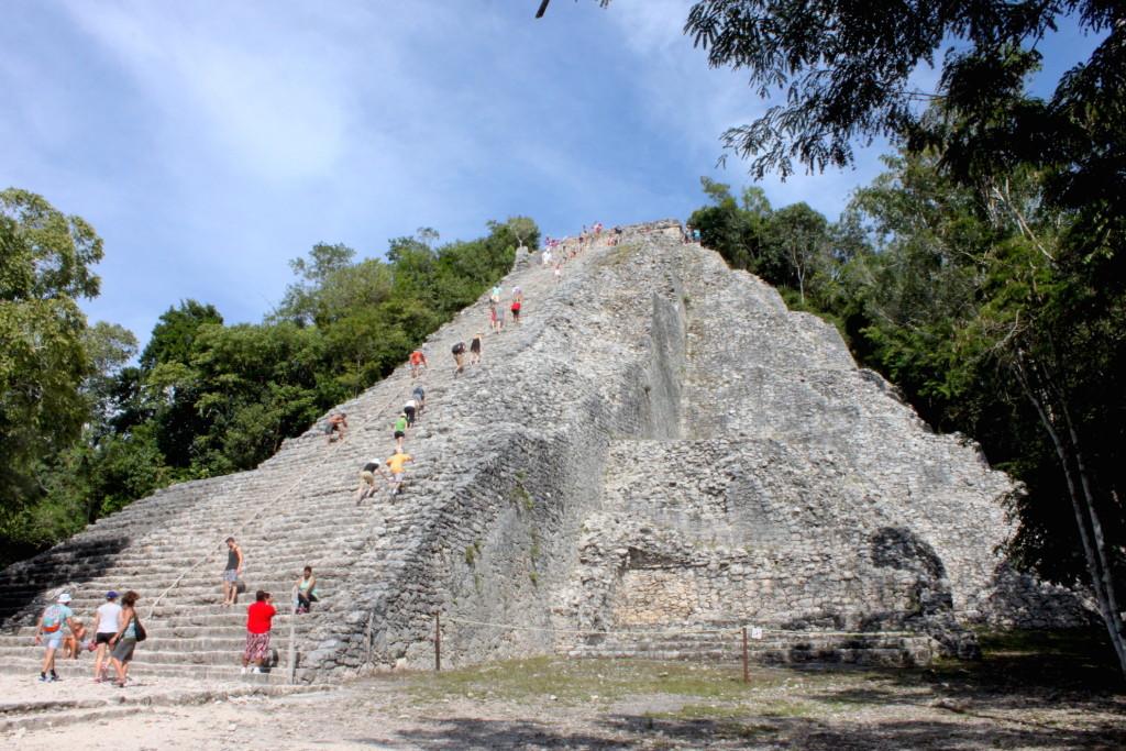 Itinerario di due settimane in Messico - Cobà1
