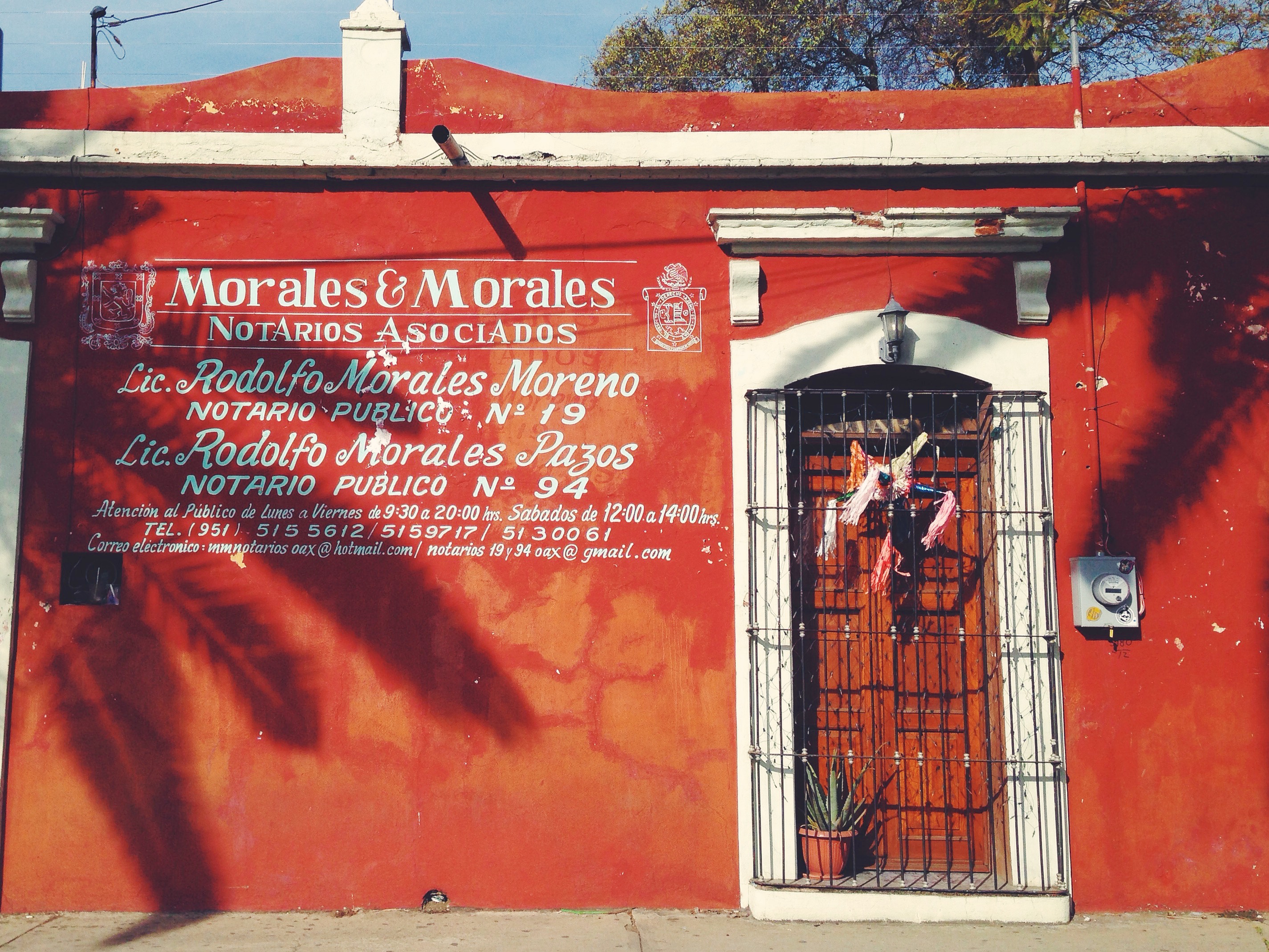 Itinerario di due settimane in Messico - Oaxaca - Casine