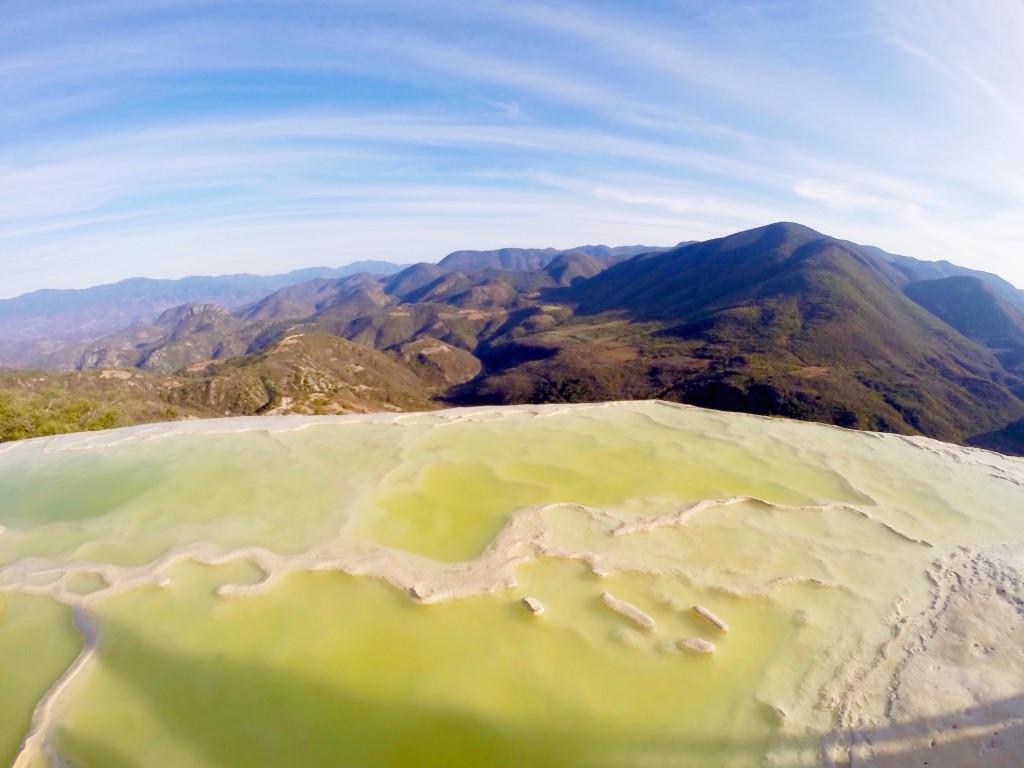 Itinerario di due settimane in Messico - Oaxaca - Hierve el Agua