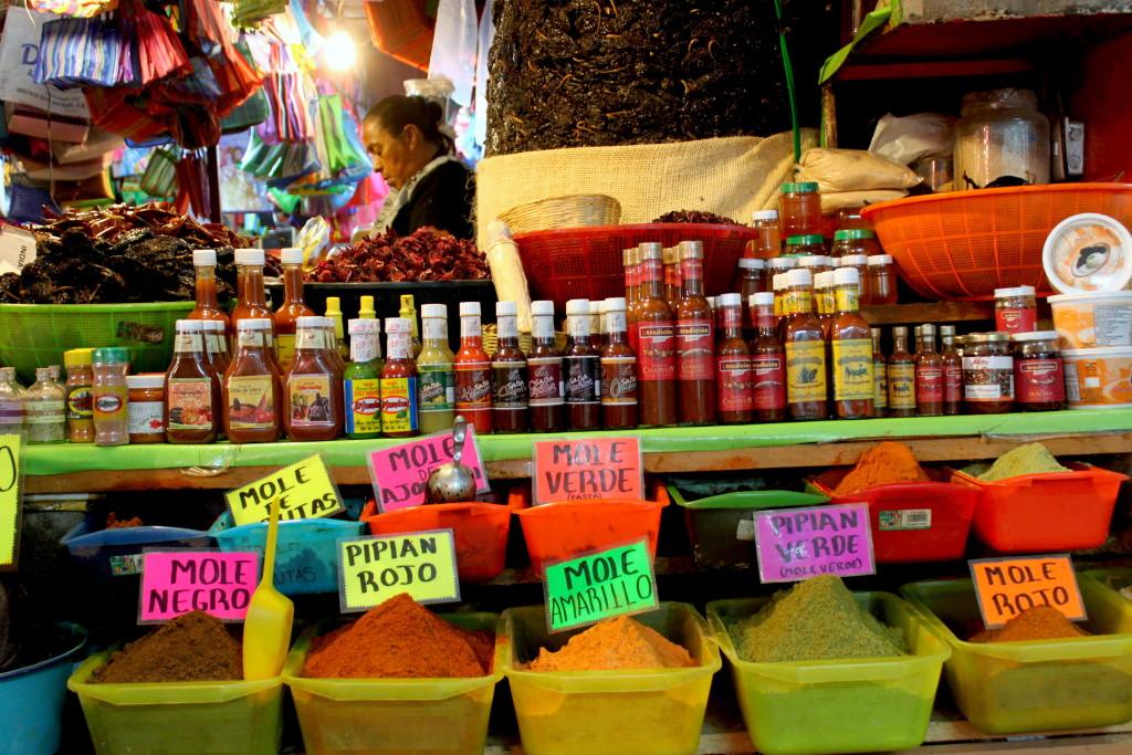 Itinerario di due settimane in Messico - Oaxaca - Mercado
