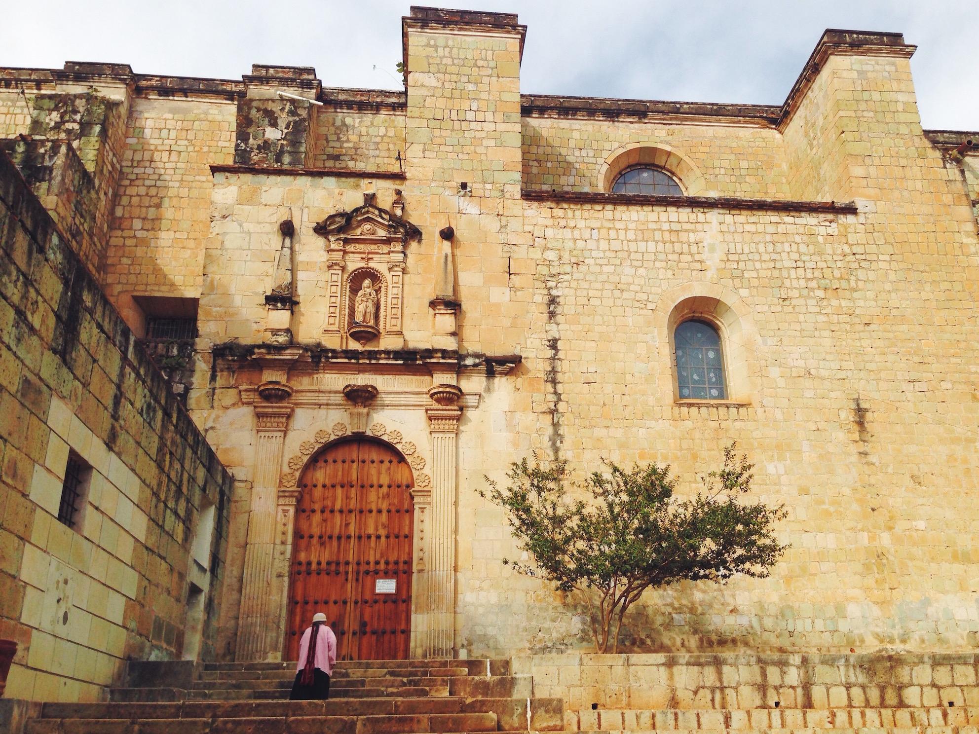 Itinerario di due settimane in Messico - Oaxaca - Templo