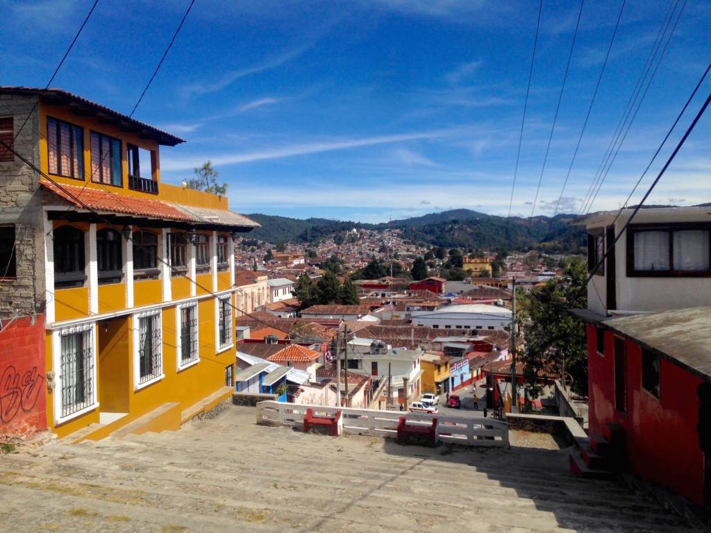 Itinerario di due settimane in Messico - San Cristobal - Vista della Città dal Cerro