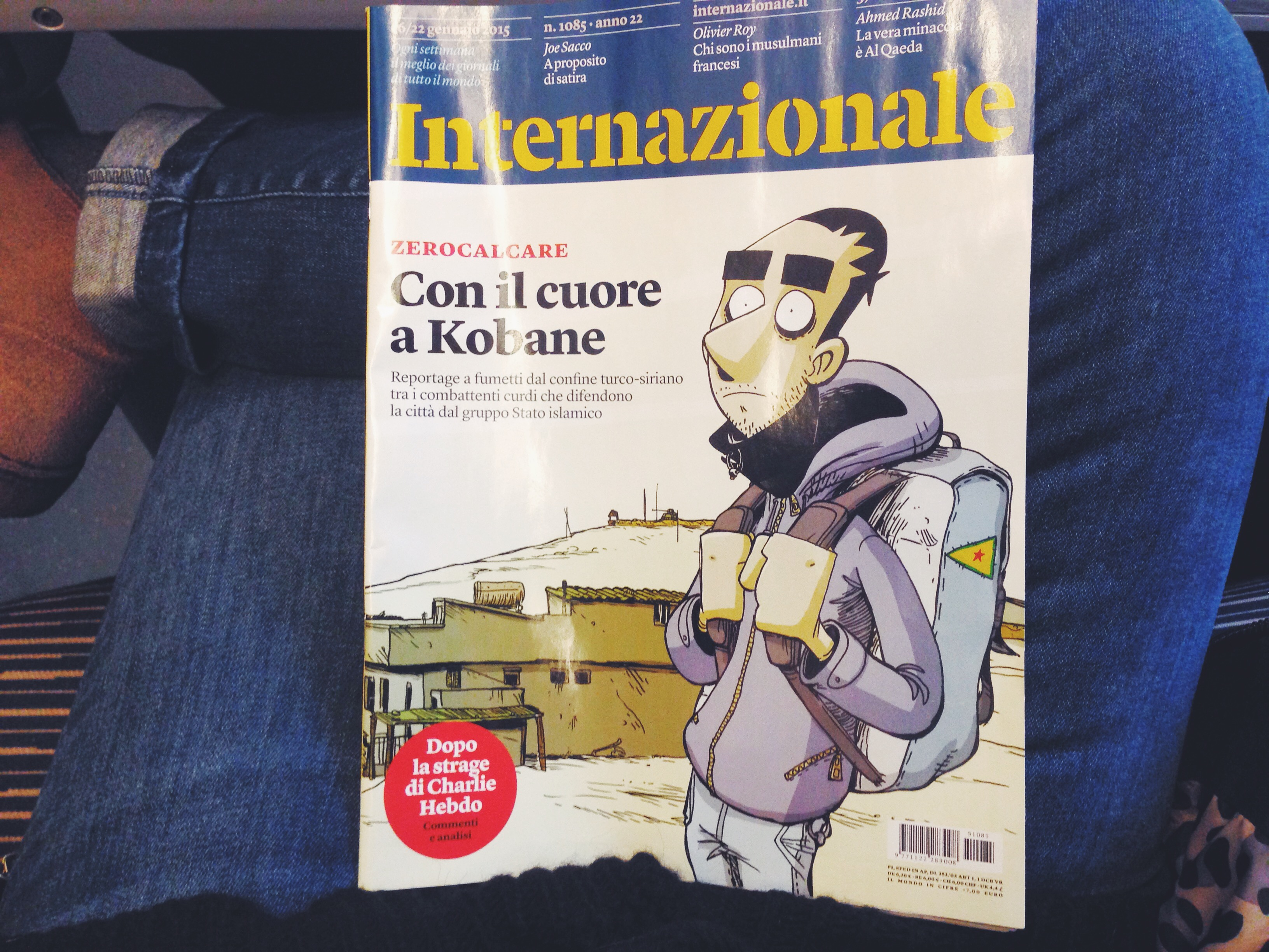 reportage zerocalcare kobane