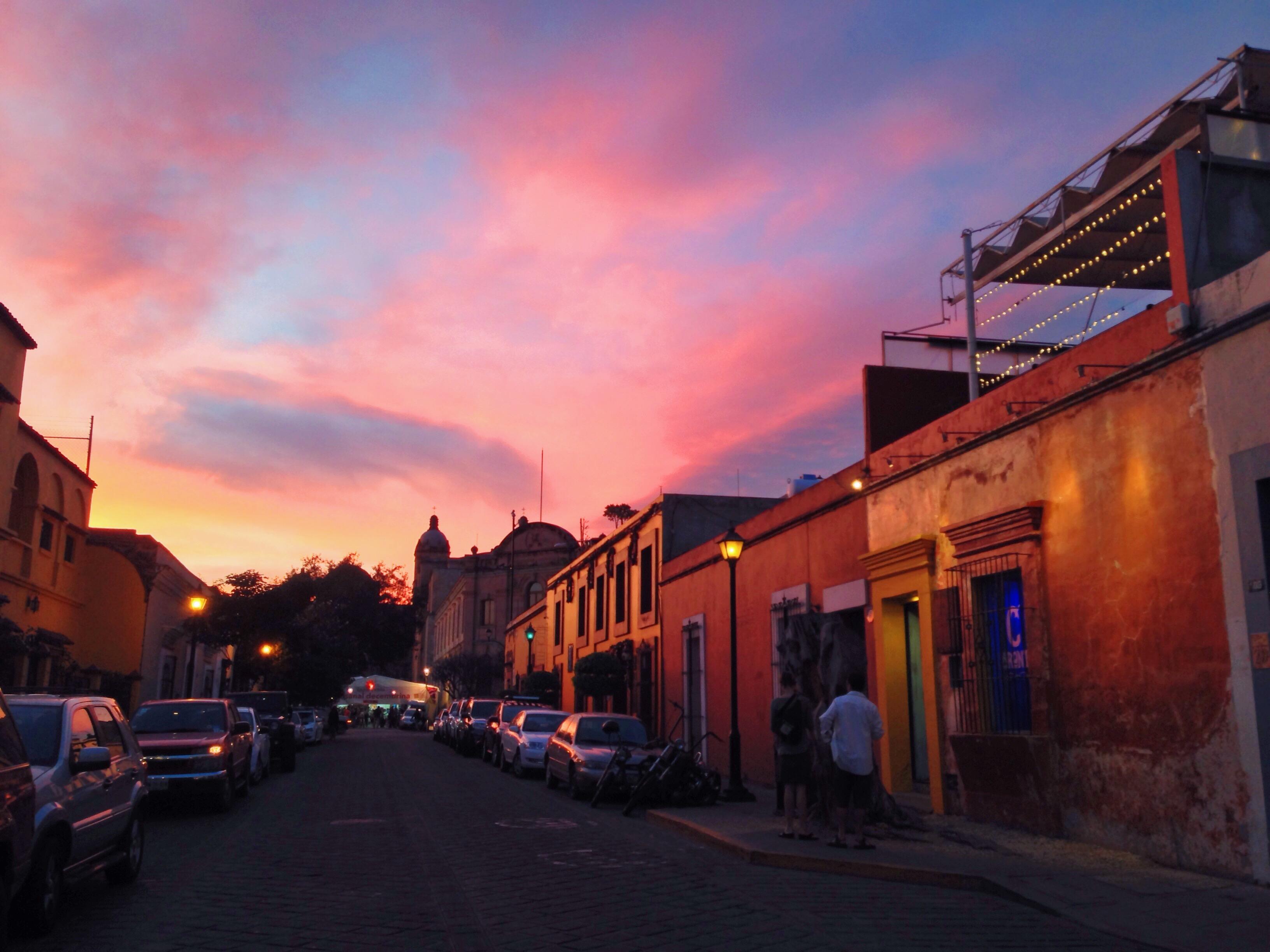 tramonto oaxaca