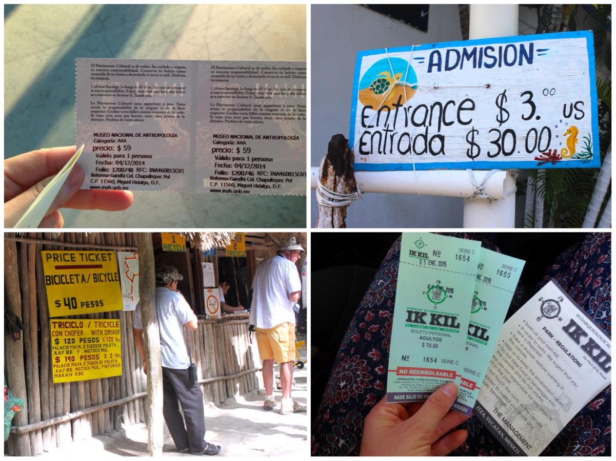 Costi viaggio in Messico