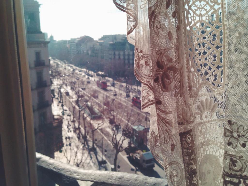 Interno della Pedrera - un weekend a Barcellona