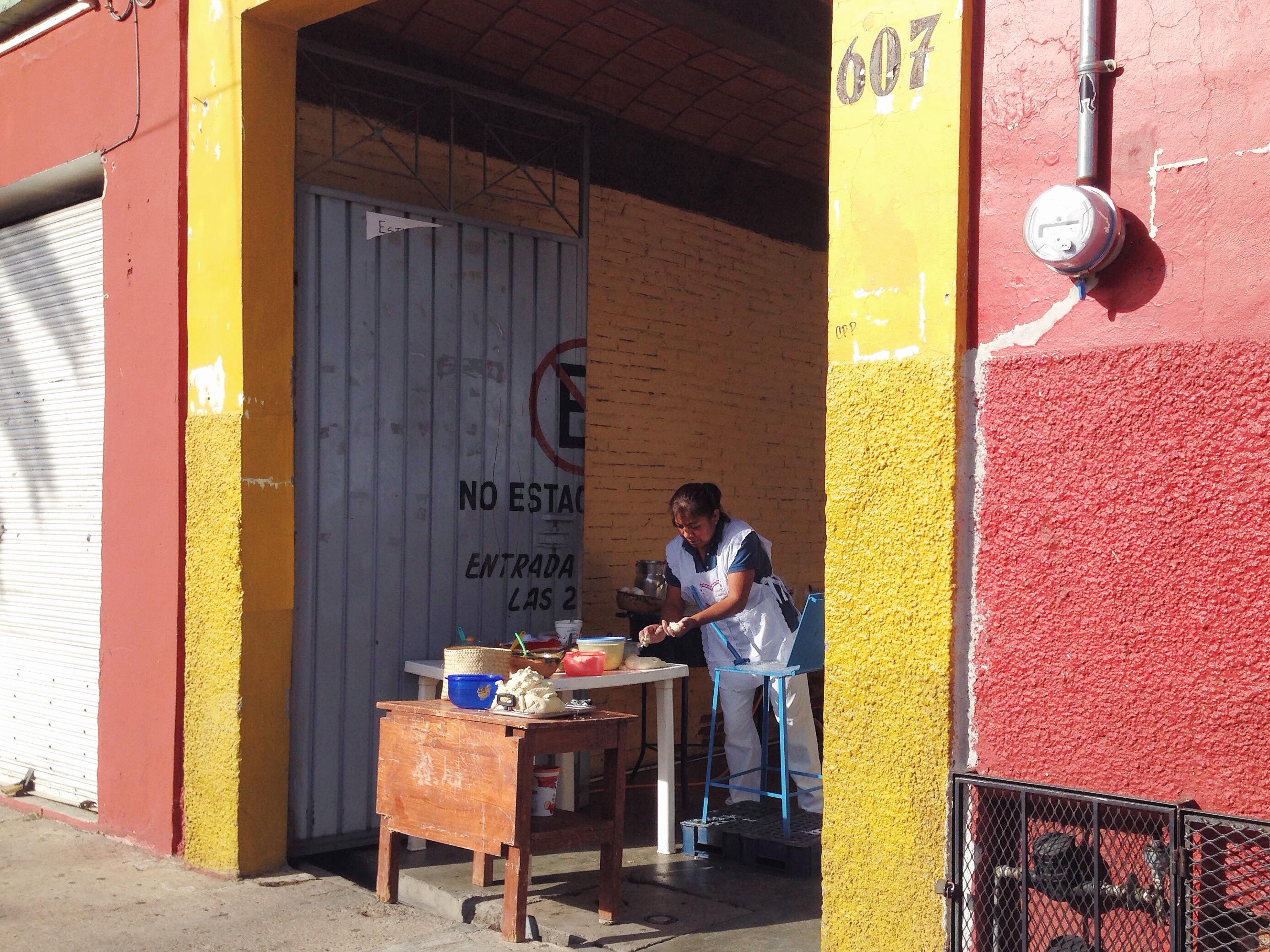 La mattina presto a Oaxaca
