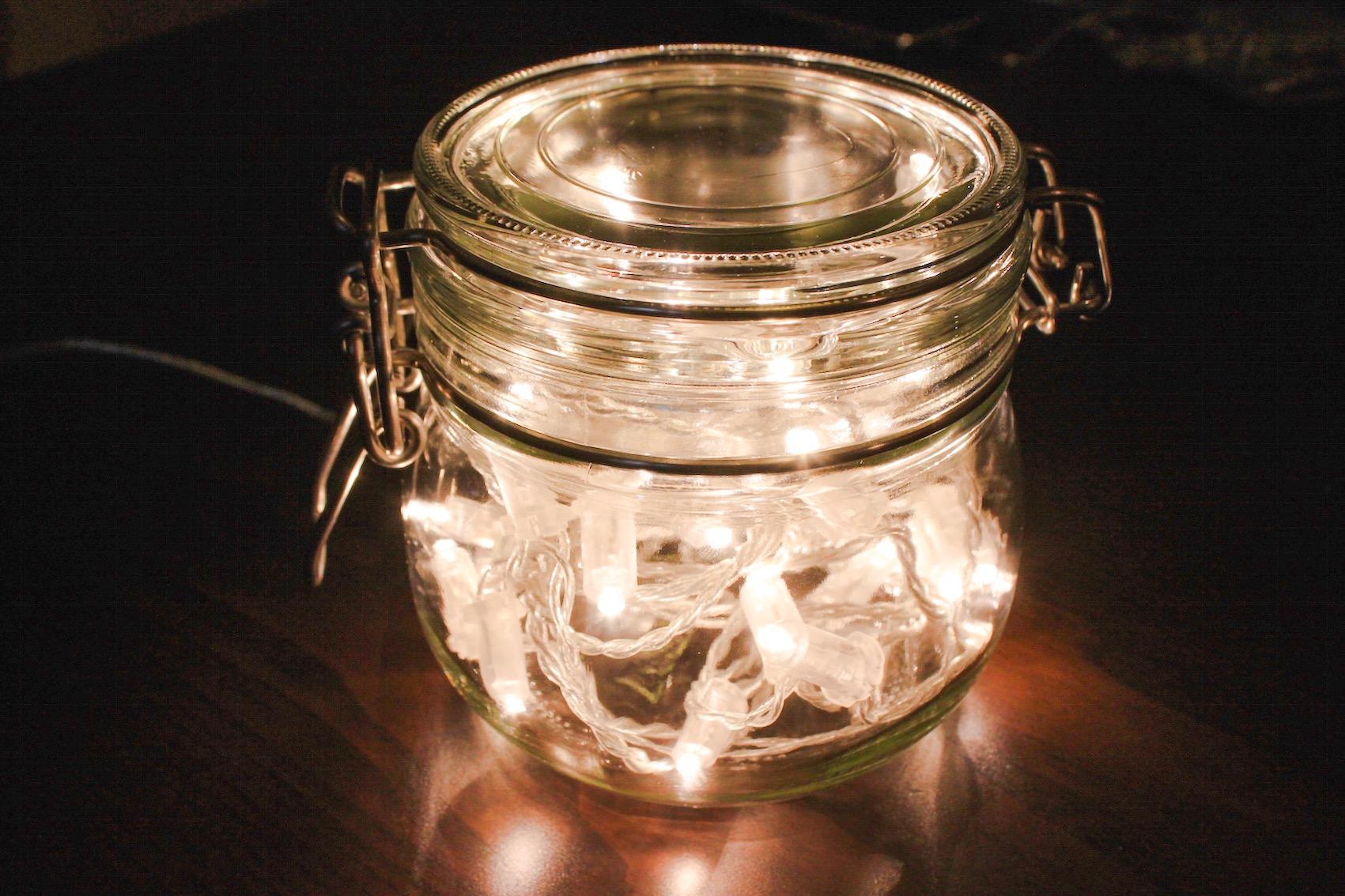 Lampada Barattolo Vetro : Lucine in un barattolo come realizzare la tua lampada via che si va