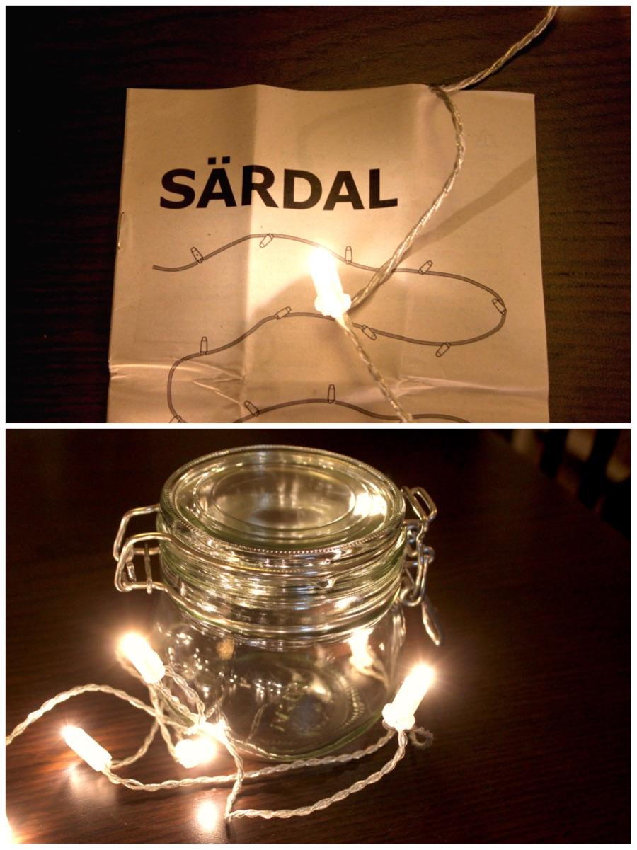 lucine in un barattolo come realizzare la tua lampada