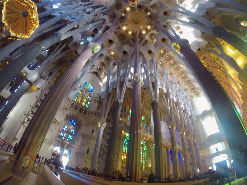 Sagrada Familia - un weekend a Barcellona