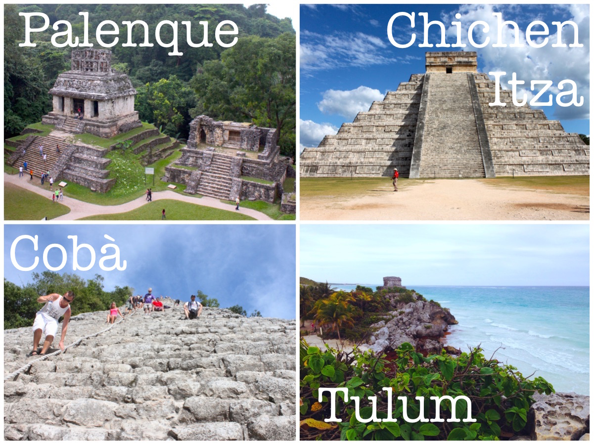 Siti archeologici in Messico