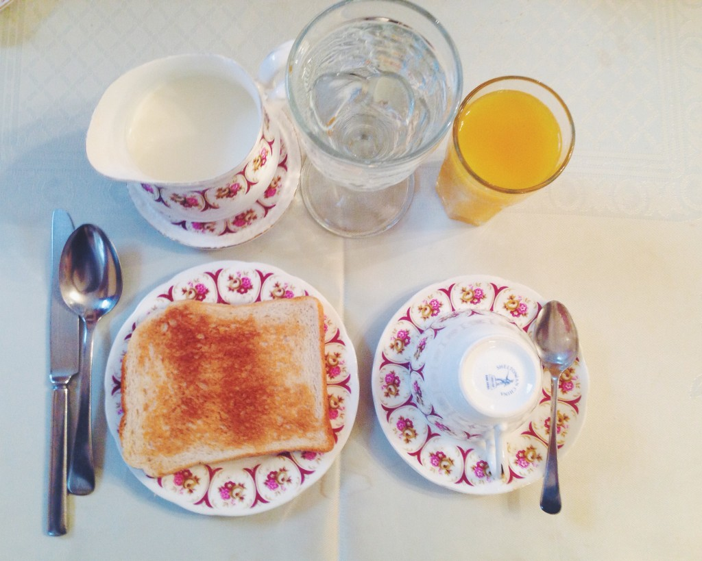 colazione russel house londra