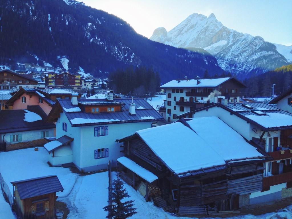 I dieci motivi per cui tornerò in Val di Fassa - Svegliarsi la mattina e vedere le montagne