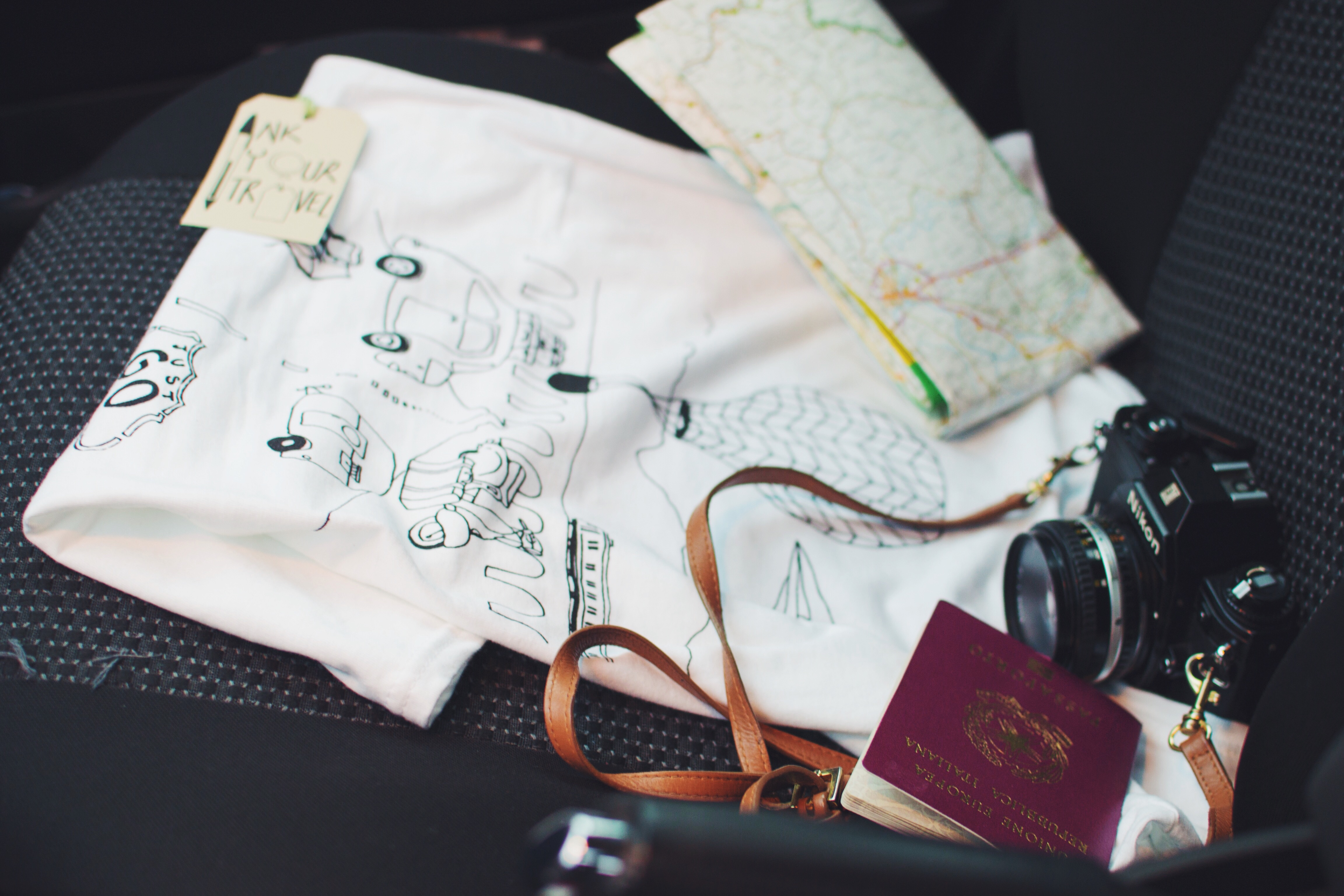 In - Ink Your Travel - T-shirts for travellers - Just Go
