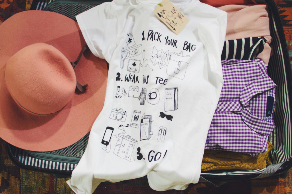 In - Ink Your Travel - T-shirts for travellers - Pack, Wear, Go