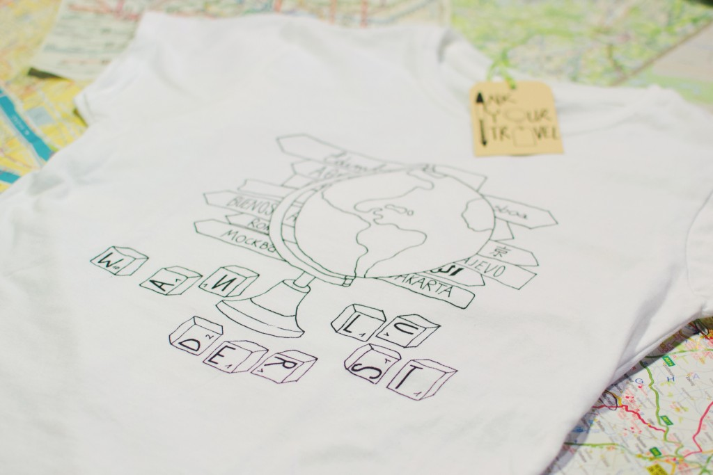 In - Ink Your Travel - T-shirts for travellers - Wanderlust