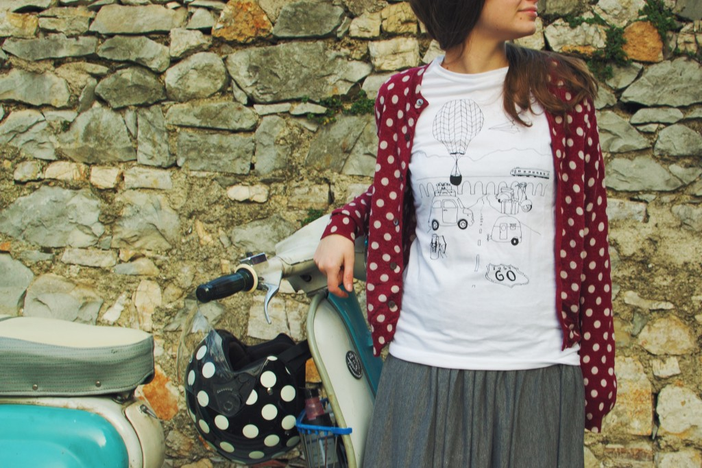 Ink Your Travel - T-shirts for travellers - Just Go