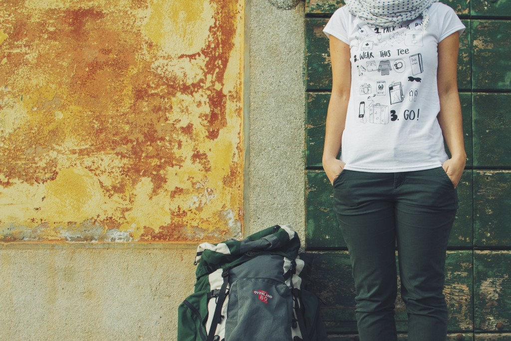 Ink Your Travel - T-shirts for travellers - Pack, Wear, Go
