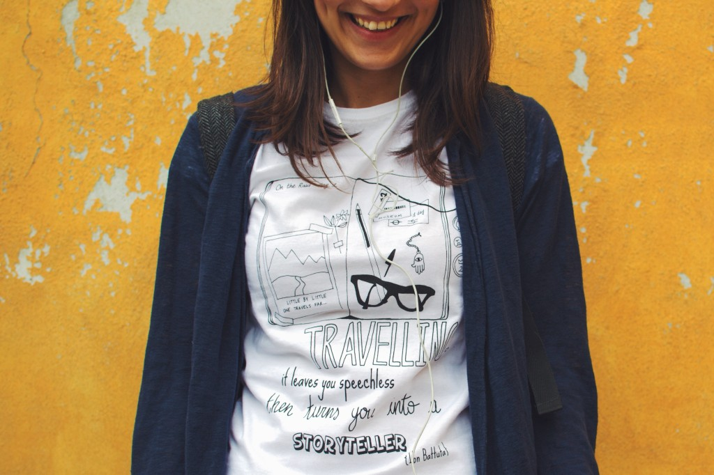 Ink Your Travel - T-shirts for travellers - Scrapbook
