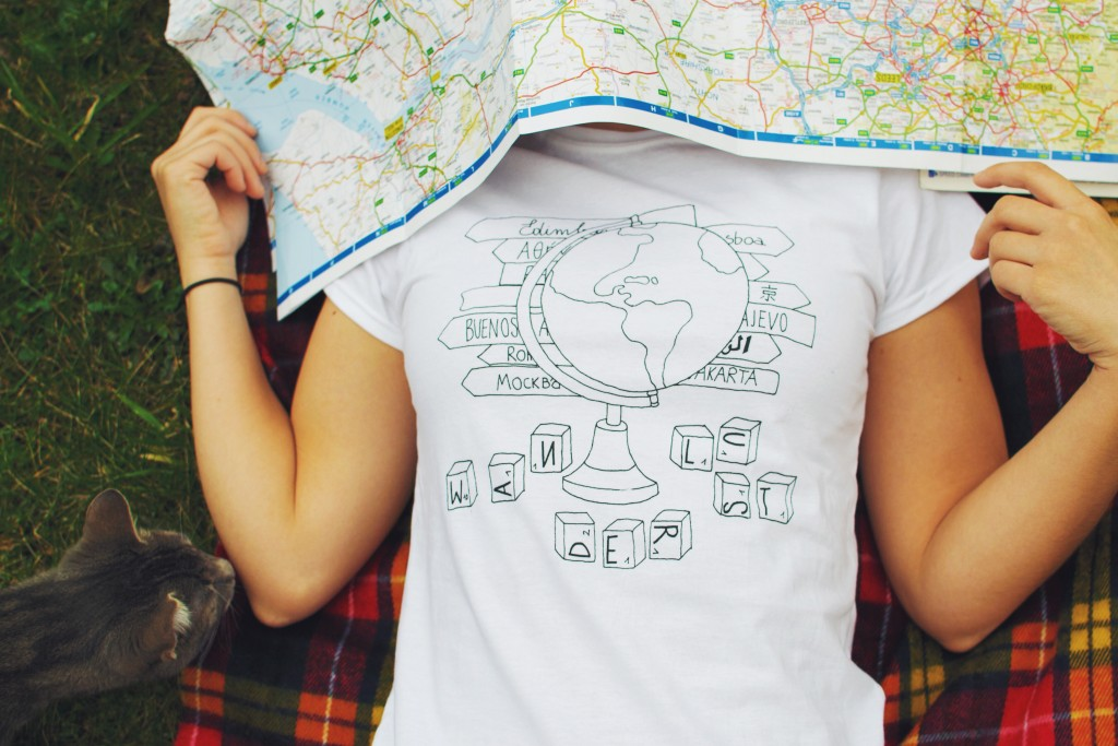 Ink Your Travel - T-shirts for travellers - Wanderlust