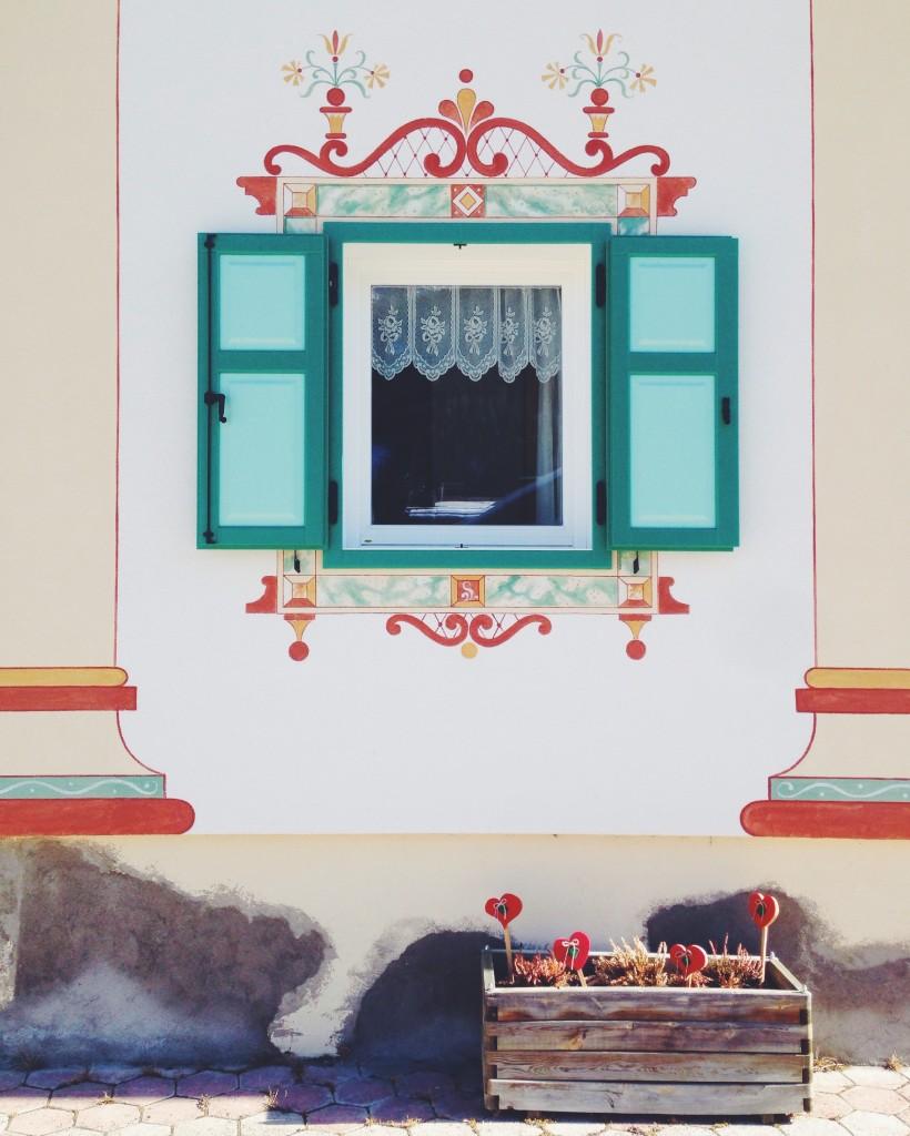 Val di Fassa - Le finestre decorate