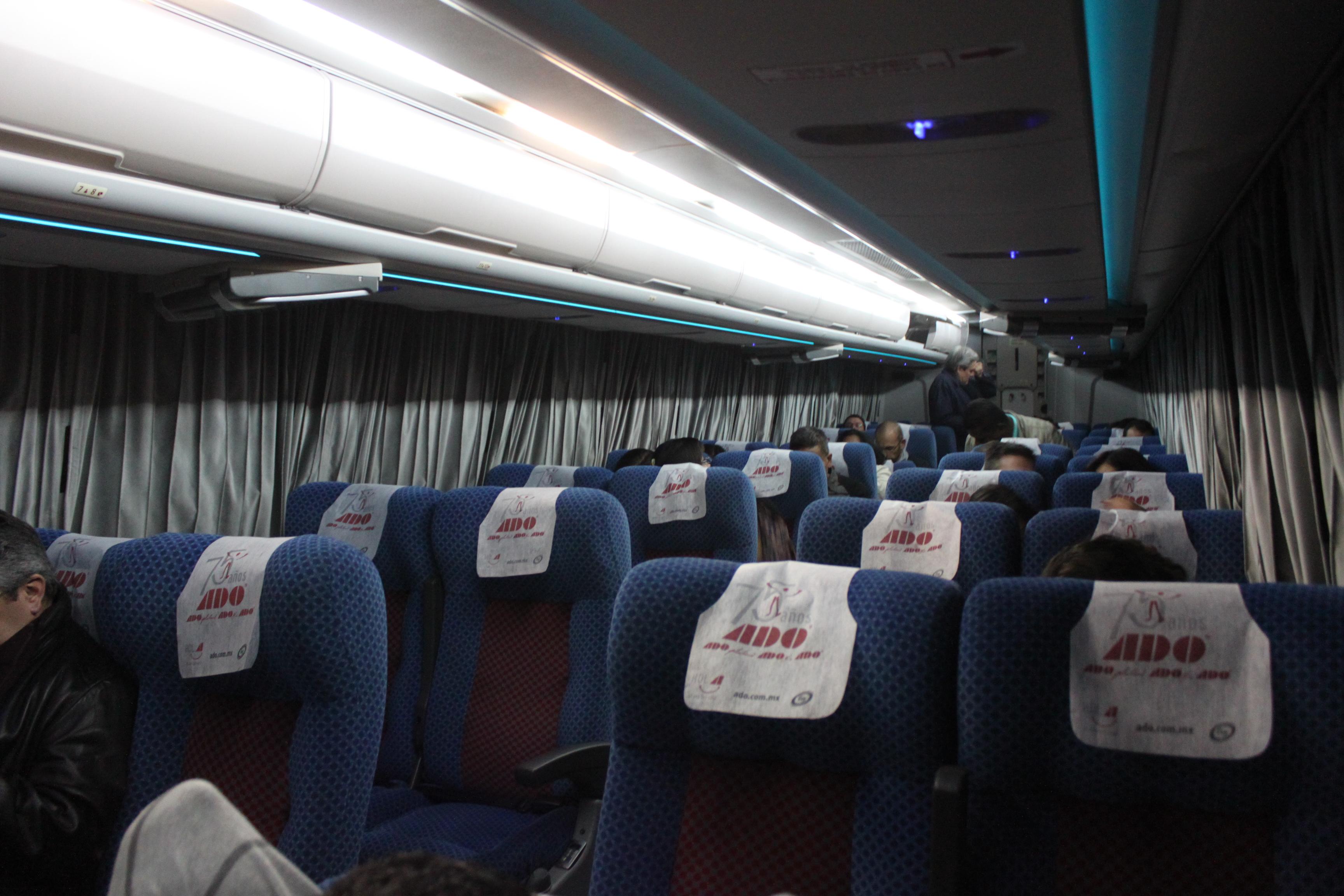 Autobus notturni in Messico - ADO GL Città del Messico Oaxaca