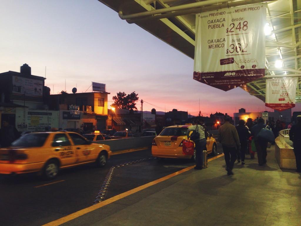 Stazione autobus a Oaxaca