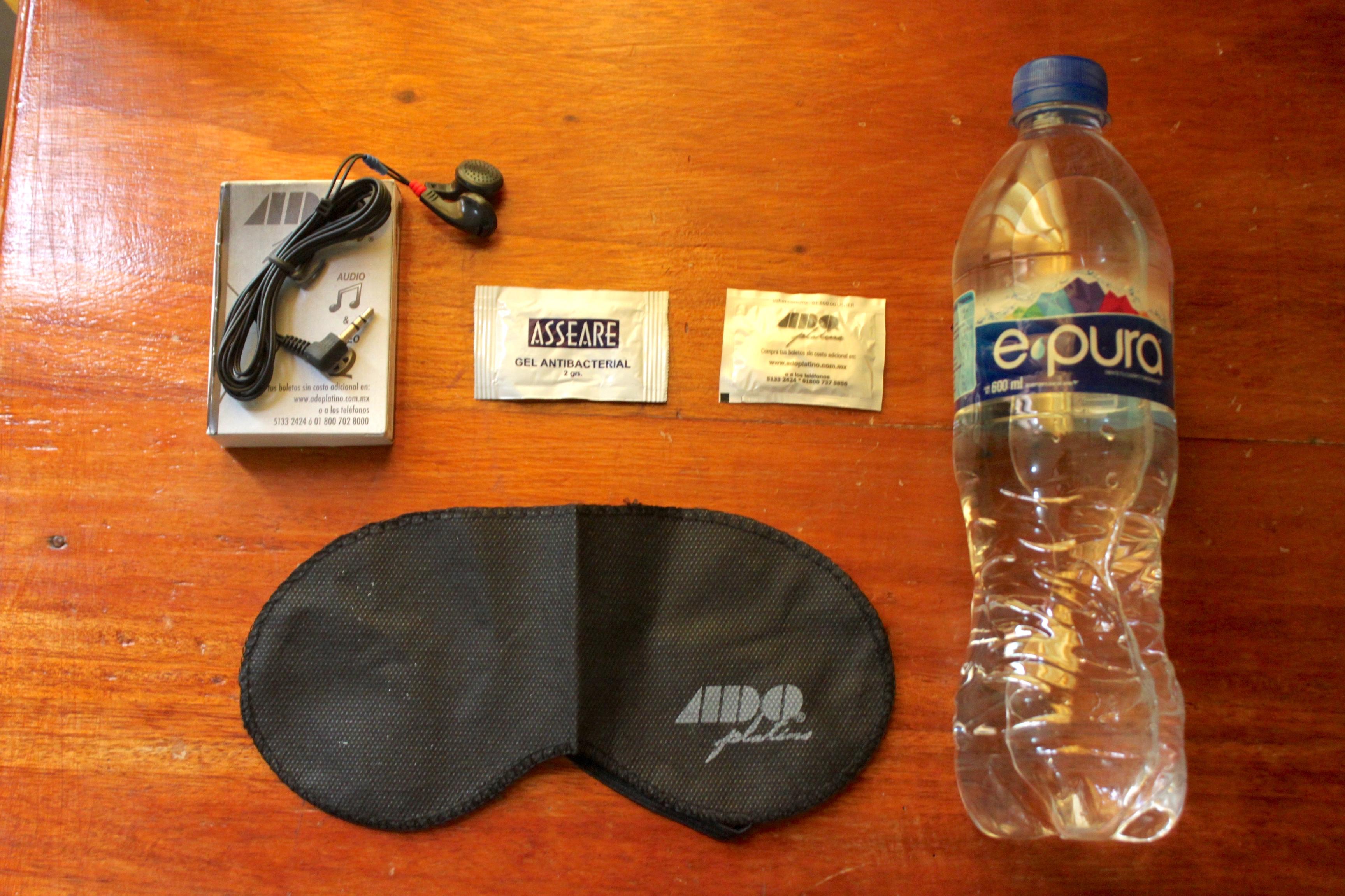 Il kit di benvenuto dell'ADO Platinum (+ coperta e cuscino)
