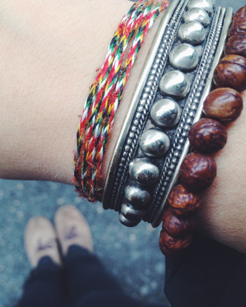I miei braccialetti nepalesi