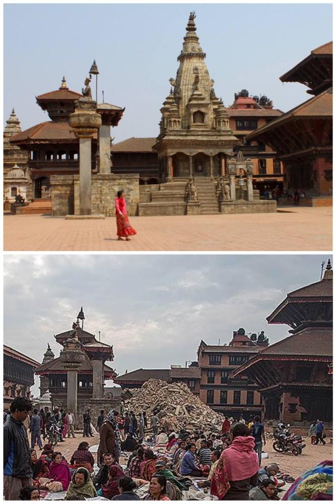 Il Nepal prima e dopo
