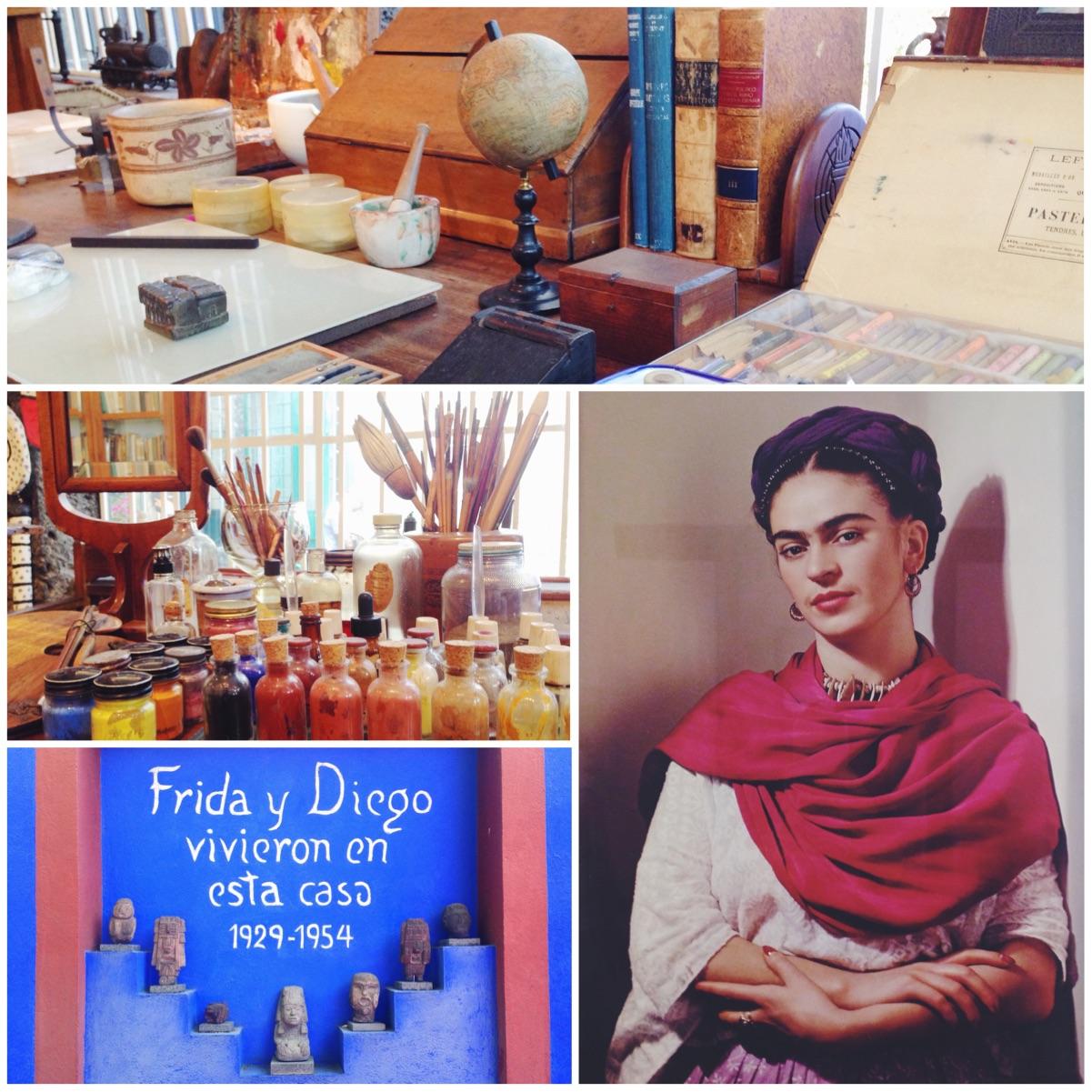 La casa di Frida Kahlo a Città del Messico