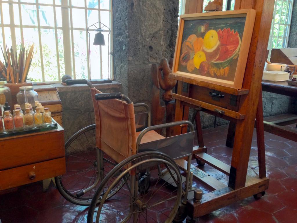 Lo studio di Frida Kahlo