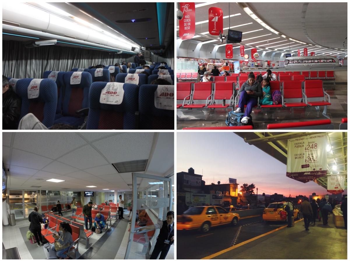 Spostarsi in Messico con gli autobus notturni